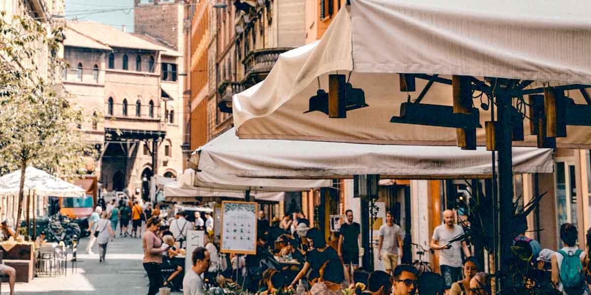 Камера хранения в Болонье