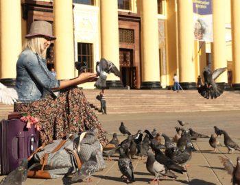 Deposito bagagli su Prospekt Budyonny a Mosca